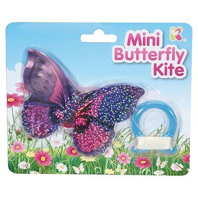 Mini Butterfly Kite Kids Toy Party Bag Filler Outdoor Fun