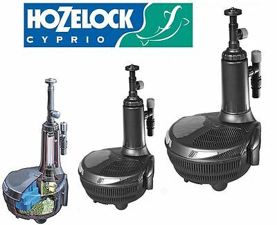 Hozelock Easyclear Pond Pump Filter UV All in One Koi Fish System 3000 – 9000L