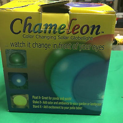 Smart Solar Chameleon Solar Globe Light