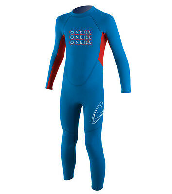O'Neill Toddlers 2mm Reactor Boys Full Wetsuit 2016 - Blue