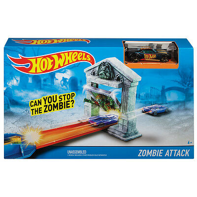 Hotwheels Track & Car Set ZOMBIE ATTACK