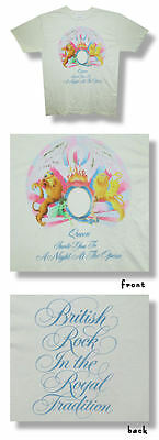 Queen- NEW Opera LIGHTWEIGHT CREAM COLOR T Shirt- 2XLarge FREE SHIP TO U.S.!