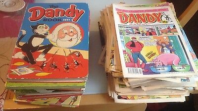 70 Dandy Comic Selection + 11 Annuals - Various Dates 1974-2004
