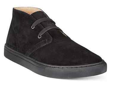 New Polo Ralph Lauren Joplin Black Suede Chukka Boots Shoes Mens 12 Hi Sneakers