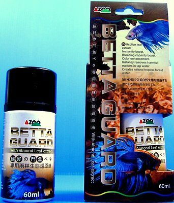 AZOO BETTA GUARD 60 ml With almond leaf extract