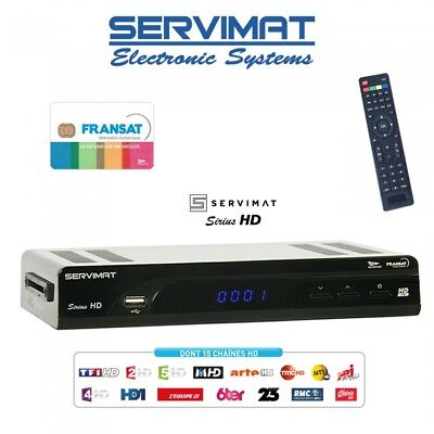 Fransat HD USB PVR Decoder + HD Viewing Card – Watch French HDTV !!!