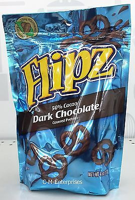 Nestle Flipz Dark Chocolate Covered Pretzels 4 oz