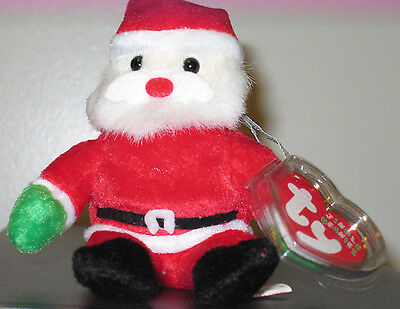 "Ty Jingle Beanie Baby ~ SANTA the (5"") Jolly Elf ~ MINT with MINT TAGS"