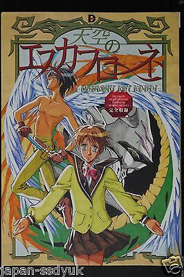JAPAN Vision of Escaflowne Complete ~Memory of Gaea~ (Art Guide Book)