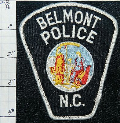 North Carolina, Belmont Police Dept Patch