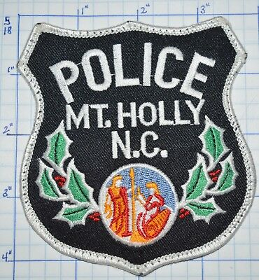 North Carolina, Mt. Holly Police Dept Patch