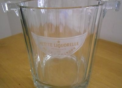 Moet & Chandon Ice Bucket Moet Chandon Glass Ice Bucket Petite Liquorelle Moët