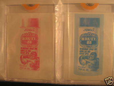 1973 Topps Wacky Packages Series 4 Sep. Proof Brute 88
