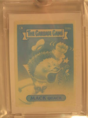 1989 Topps Garbage Pail Kids Gang Blue Proof #106b
