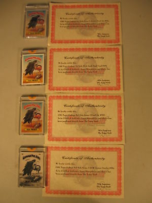 Lot (4) 1986 Topps Garbage Pail Kids Proof Sets #99