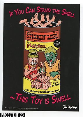 2011 Topps Wacky Packages OS2 Unscored - Stinkin Legs