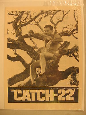 1970 Movie Herald Catch-22