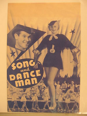 1935 Movie Herald Song and Dance Man
