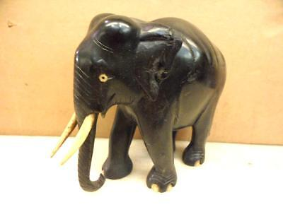 Old African ebony elephant c. 1900