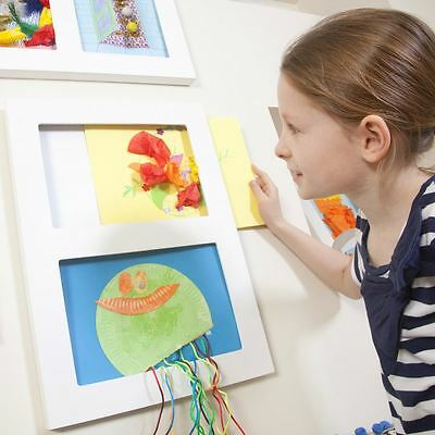 ARTICULATE A4 DOUBLE Childrens A4 Art Frame Kid's Modern Gallery Display