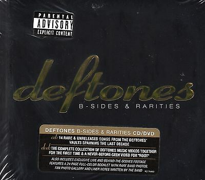 Deftones - B Sides & Rarities (CD & DVD) Digipak (Worldwide Compatible DVD) New