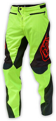 Troy Lee Designs Sprint Youth Bike Pants Fluro Yellow 2016