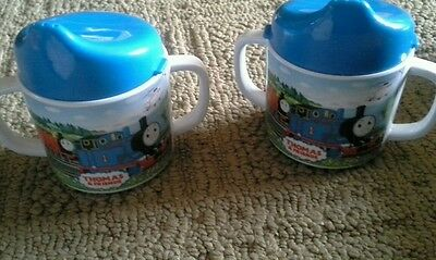 Thomas & Friends Pecoware set of 2 Sippy Cups with Handles