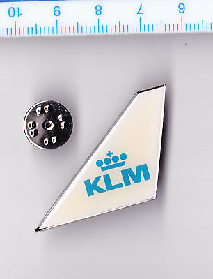 KLM Royal Dutch Airlines pin badge Wing