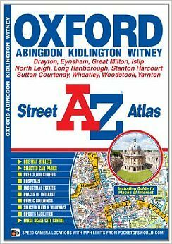 A-Z City of Oxford Map (Street Atlas) New Paperback Book Geographers' A-Z Map Co