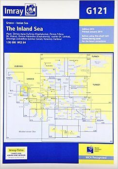 Imray Chart G121: The Inland Sea New Map Book