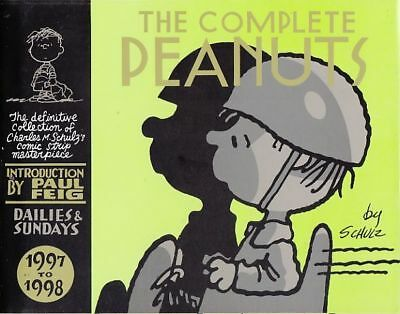 The Complete Peanuts 1997-1998 Schulz Hardcover (Canongate) New