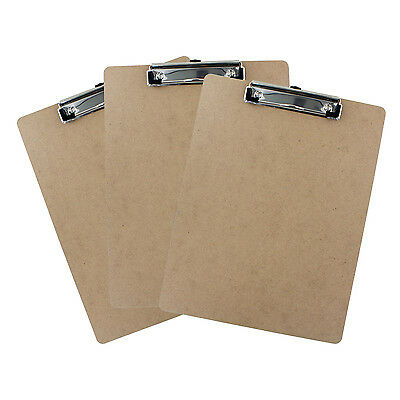 Good Old Values Hardboard Letter Size 9 x 12 in Clipboard - Pack of 3