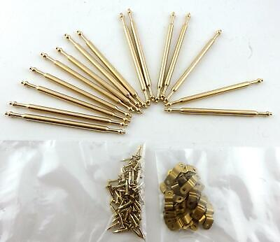 Dolls House Miniature Staircase Runner Carpet  Accessory 15 Brass Stair Rods