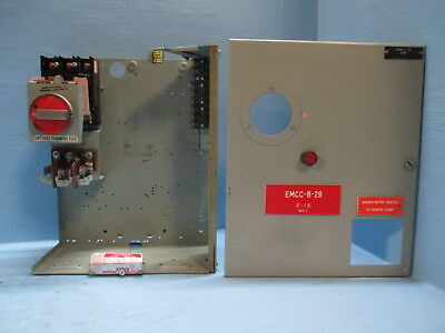 """General Electric GE 7700 60 Amp 18"""" Fused Feeder Disconnect MCC Bucket 60A MCCB"""