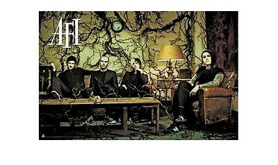 AFI ~ VINES ~ 24x36 MUSIC POSTER ~ A Fire Inside Group Davey Havok NEW/ROLLED!