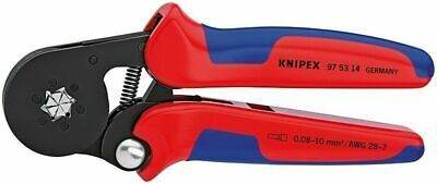 """Knipex 975314 Insulated Crimping Crimper Pliers 28 - 7 AWG 7-1/4"""""""