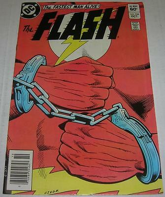 FLASH #326 (DC Comics 1983) FLASH arrested (FN/VF) WEATHER WIZARD appearance