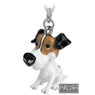 Little Paws Key Ring Jack Russell Dog 3713-LPKR-JRU