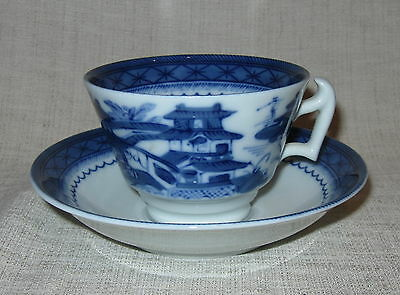 Mottahedeh Canton Cup and Saucer