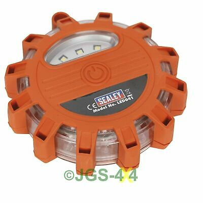 Emergency Rotating Car Breakdown Warning Light 12 LED Flare Beacon - LED041