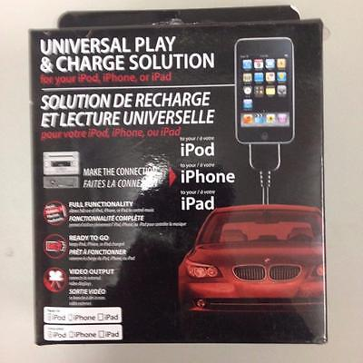 iSimple UNIVERSAL PLAY & CHARGE SOLUTION FOR iPod, iPhone or iPad (30 Pin) CP70