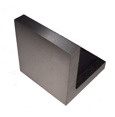 """Rdgtools 3"""" X 3"""" Solid Face Angle Plate Milling Lathes Engineering Tools"""