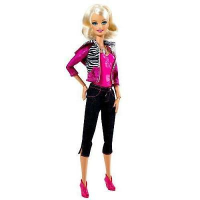 Barbie Pink Glam Video Girl Barbie Doll New