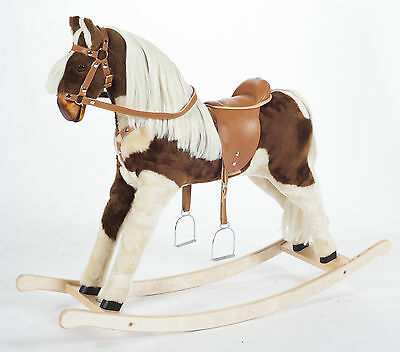"Handmade Brand New Rocking Horse ""Titan 6"" from MJMARK MADE IN EUROPE..."