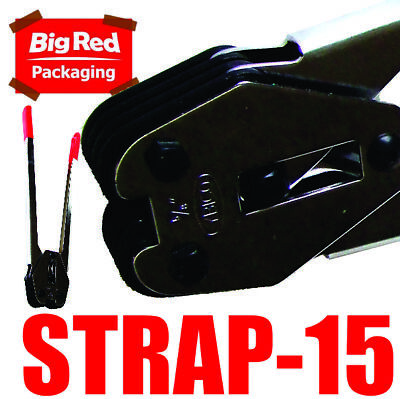 15mm Crimper Sealer for Poly Strapping Polypropylene Strapping, Hand Tool