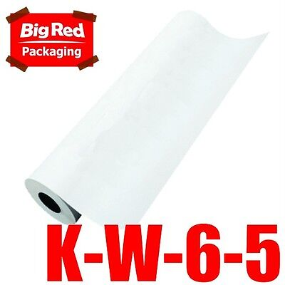 600mmx550m 50GSM White Kraft Paper Roll Packaging Wrapping Packing Craft