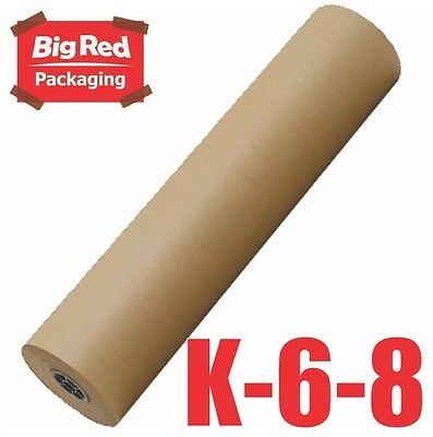 Brown Packaging Kraft Paper Roll 600mm x 300m 80GSM Packing Wrapping Craft