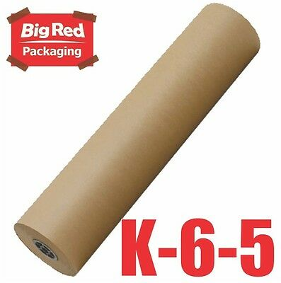 Brown Packaging Kraft Paper Roll 600mm x 450m 50GSM Packing Wrapping Craft