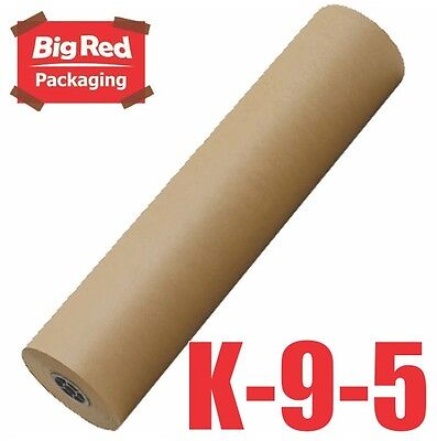 Brown Packaging Kraft Paper Roll 900mm x 450m 50GSM Wrapping Packing Craft