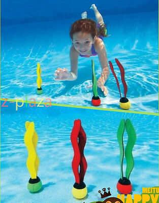 Hot Sale Underwater Multi Colour Swim Swimming Pool Diving Ring Stick Ball Toys